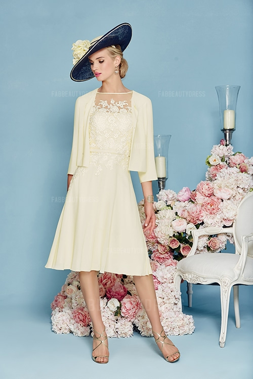 Mother Of The Bride Dress Tea Length
