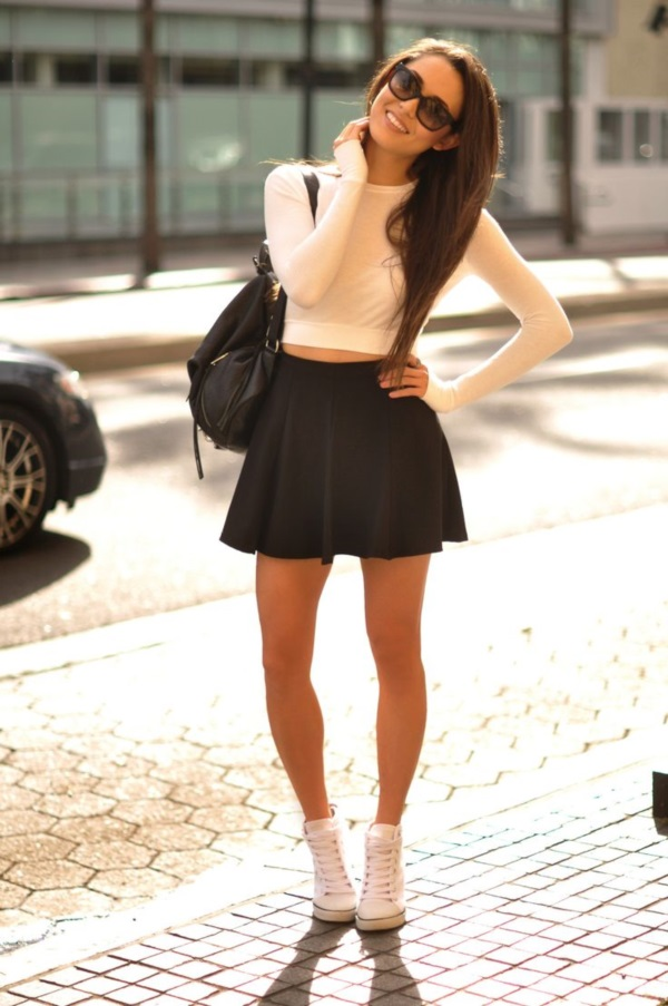 67507187b039 Cute Summer Outfits Ideas to Wear with Converse - Cute Dresses
